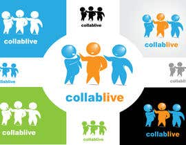 #109 untuk Logo and Brand Design for CollabLive oleh danumdata