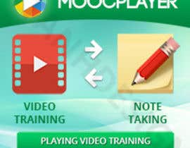#32 para Design a Banner for a note taking app for video trainings por htanhdesign
