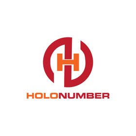 #48 untuk Logo + Cover for www.HoloNumber.com oleh faisalmasood012