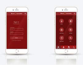 nº 23 pour Design an App Mockup for Lawyer App par leandeganos
