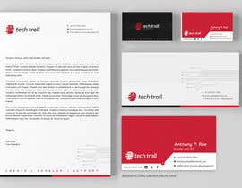 nº 53 pour Design a stationery for IT Company (Logo Provided) par graphstas