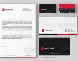 nº 56 pour Design a stationery for IT Company (Logo Provided) par graphstas