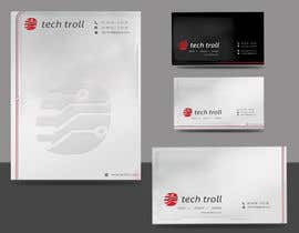 nº 77 pour Design a stationery for IT Company (Logo Provided) par oksrider