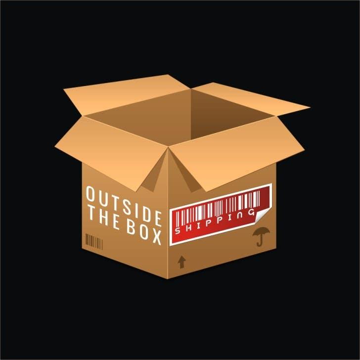 Konkurrenceindlæg #3 for Shipping Box Logo Design