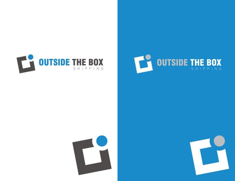 Konkurrenceindlæg #94 for Shipping Box Logo Design