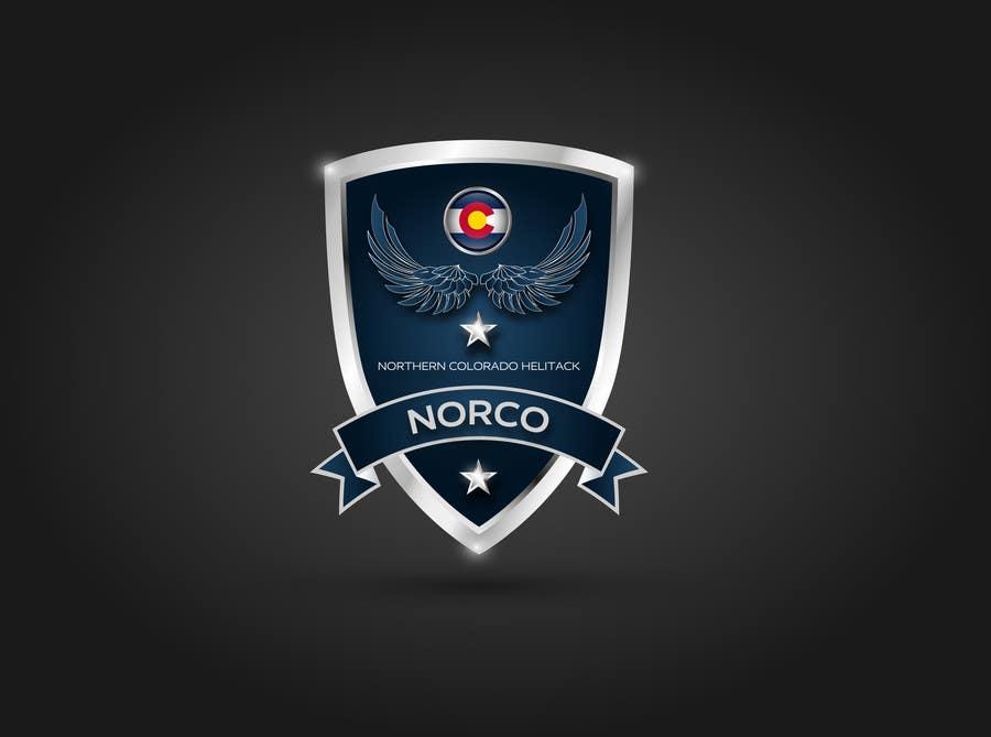 Kilpailutyö #19 kilpailussa Design a Logo for Colorado Helicopter Fire Crew