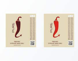 #89 Graphic Design for Chilli Sauce label részére brendlab által