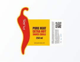 #85 for Graphic Design for Chilli Sauce label by brendlab
