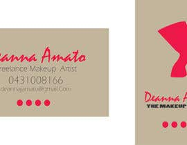 #9 para Design some Business Cards for Makeup Artist por contactdenis