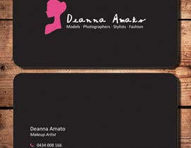 #22 para Design some Business Cards for Makeup Artist por kathyho