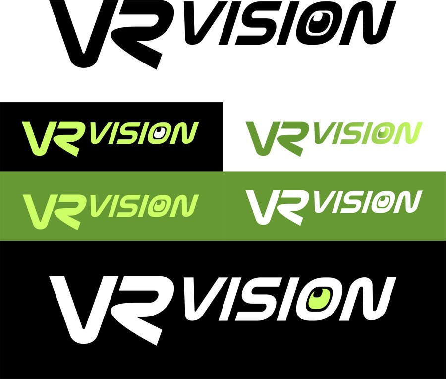 Kilpailutyö #17 kilpailussa Design a Logo for VR Vision