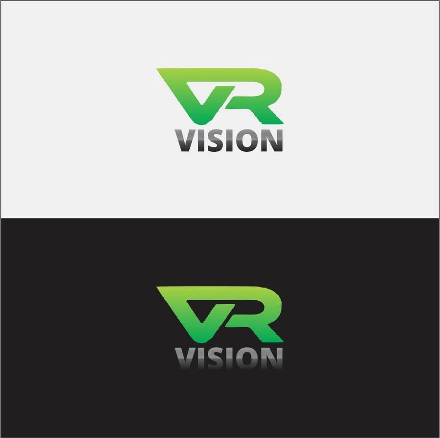 Kilpailutyö #38 kilpailussa Design a Logo for VR Vision