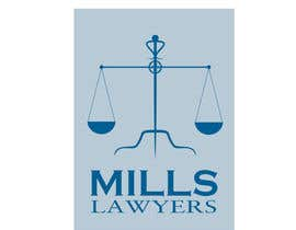 nº 52 pour Design a Logo for Mills Lawyers par atmosferaa