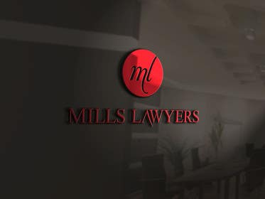 #64 cho Design a Logo for Mills Lawyers bởi SergiuDorin