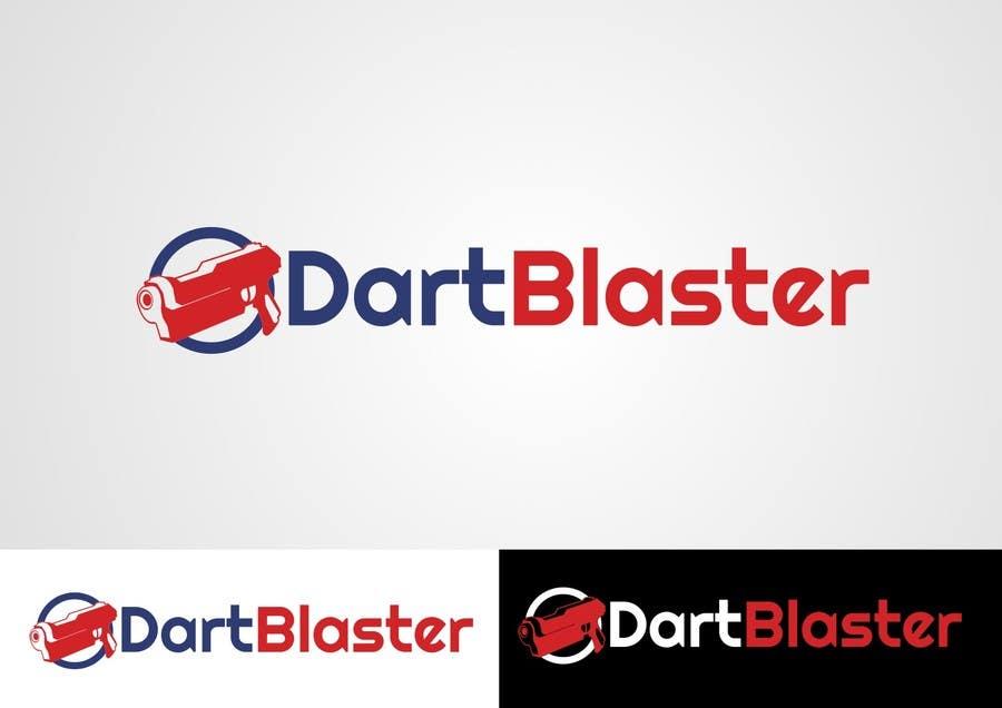Contest Entry #63 for Logo Design for Dartblaster Website