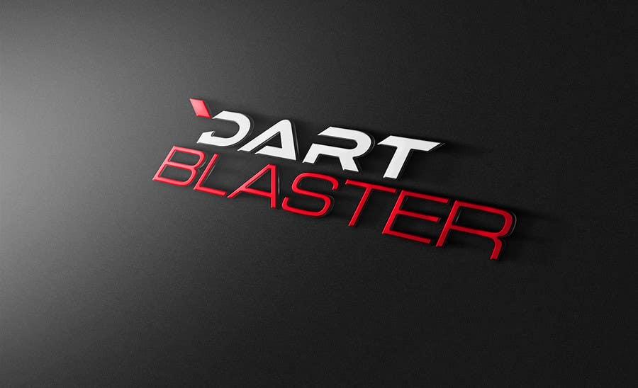 Konkurrenceindlæg #                                        25                                      for                                         Logo Design for Dartblaster Website