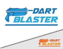 #51 para Logo Design for Dartblaster Website por georgeecstazy