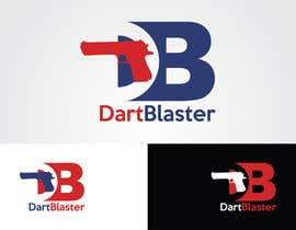 #53 para Logo Design for Dartblaster Website por SharifHasanShuvo