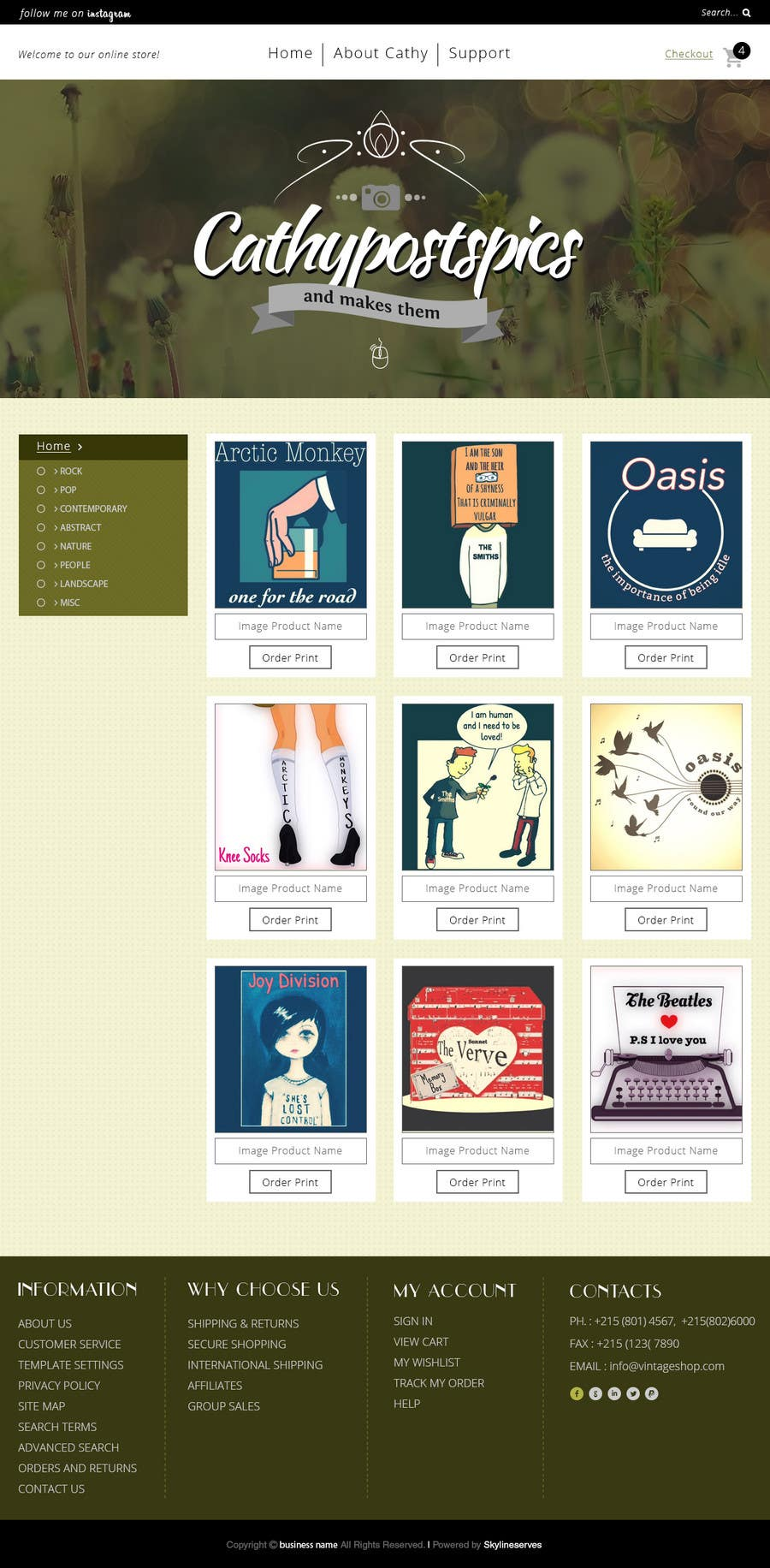 Penyertaan Peraduan #40 untuk Cathy Posts Pics - Website Design