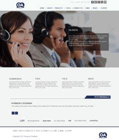 Nro 10 kilpailuun Re-design static HTML webpage for our company käyttäjältä zicmedia