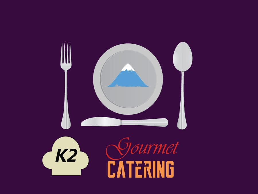 Contest Entry #                                        187                                      for                                         Design a Logo for K2 Gourmet Catering