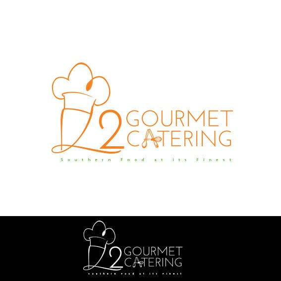 Contest Entry #                                        7                                      for                                         Design a Logo for K2 Gourmet Catering