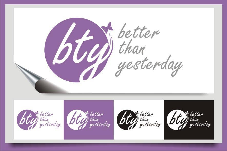#201 for Design a Logo for Better Than Yesterday by indraDhe