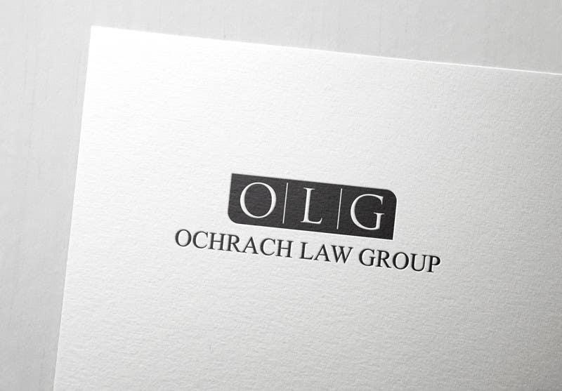 Konkurrenceindlæg #                                        110                                      for                                         Design a Logo for Ochrach Law Group