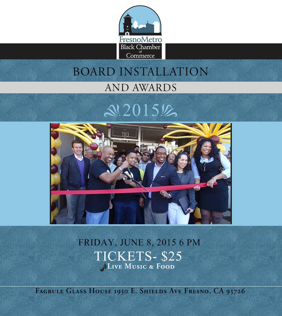 Contest Entry #                                        9                                      for                                         Chamber Board Installation Event