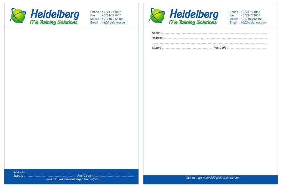 Inscrição nº 5 do Concurso para Design a Logo/Letterhead  for my small business