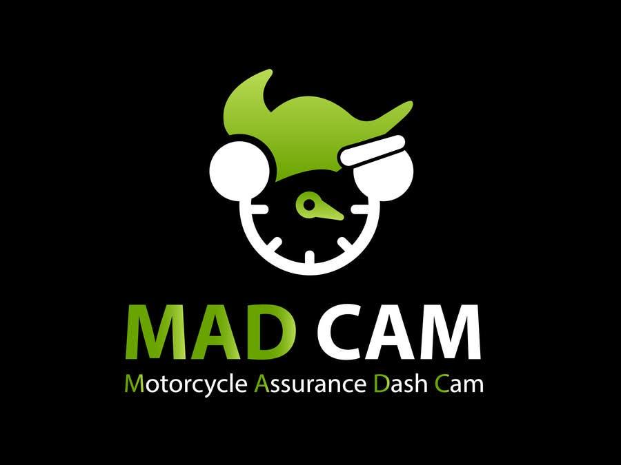 Konkurrenceindlæg #                                        14                                      for                                         Design a Logo & App Icon for MAD Cam (Motorcycle Assurance Dash Cam app)