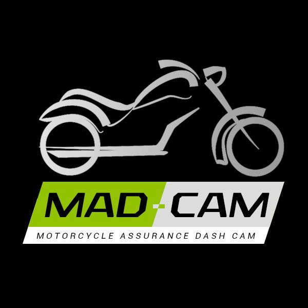 Konkurrenceindlæg #                                        4                                      for                                         Design a Logo & App Icon for MAD Cam (Motorcycle Assurance Dash Cam app)