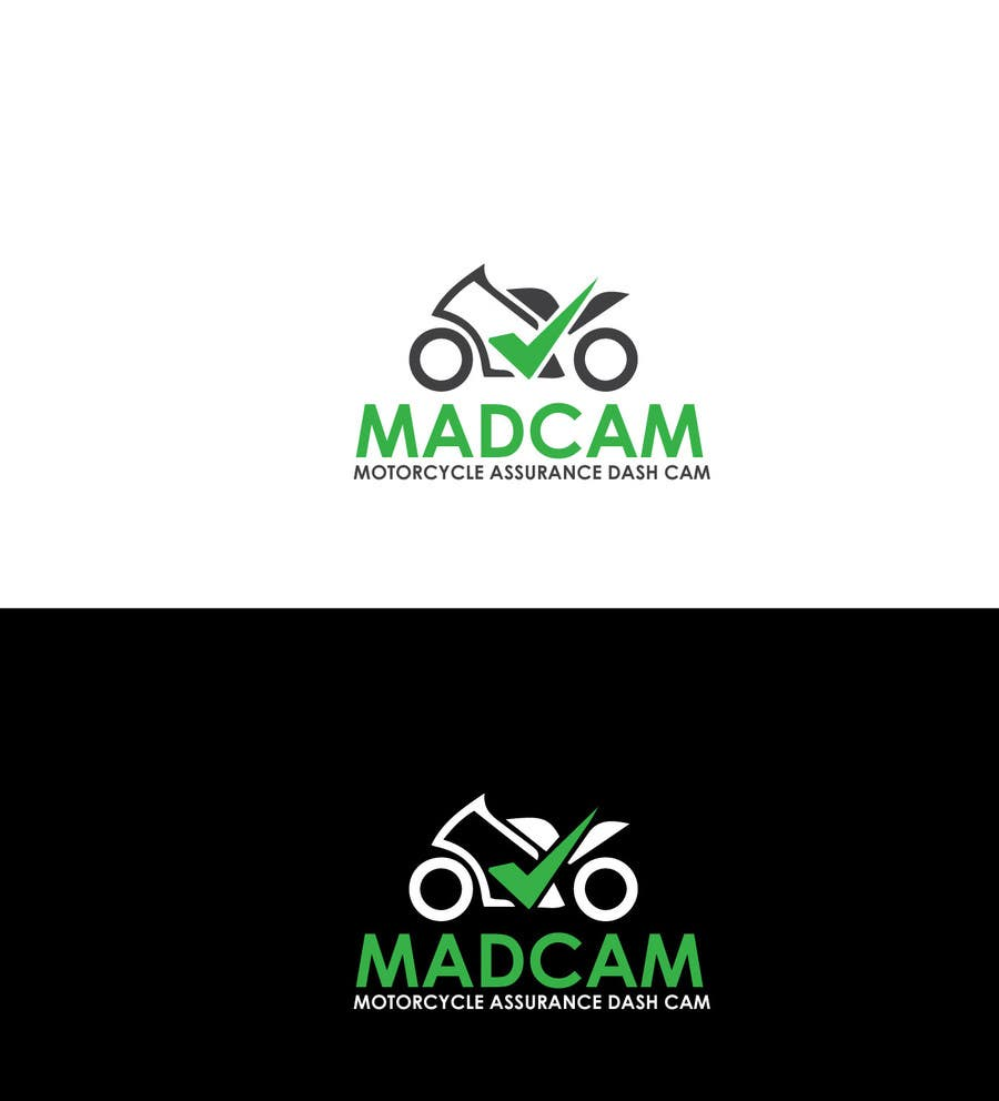 Konkurrenceindlæg #                                        1                                      for                                         Design a Logo & App Icon for MAD Cam (Motorcycle Assurance Dash Cam app)