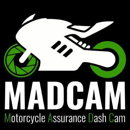 Konkurrenceindlæg #                                        9                                      for                                         Design a Logo & App Icon for MAD Cam (Motorcycle Assurance Dash Cam app)