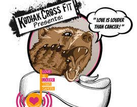 "#18 untuk Design a T-Shirt for Kodiak CrossFit Presents: ""A Whole WOD of Love"" oleh shananigans1"