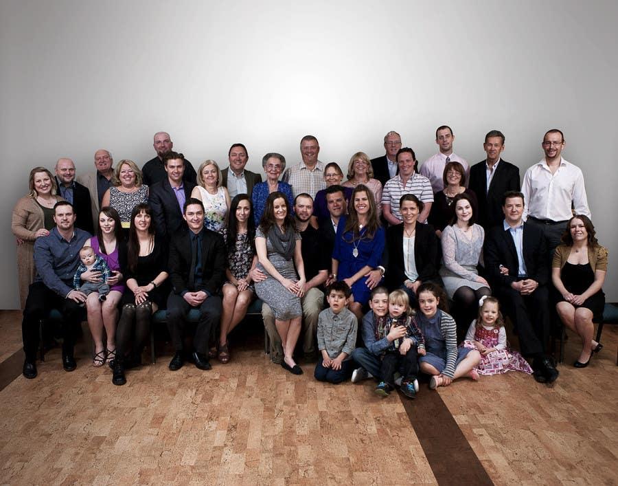 Konkurrenceindlæg #10 for 4 Generation family photo edit