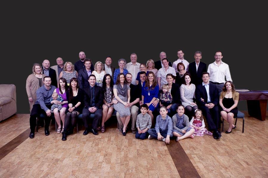 Konkurrenceindlæg #9 for 4 Generation family photo edit