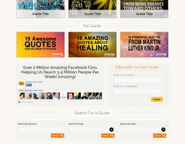 #6 untuk Design the homepage of my website oleh codegur