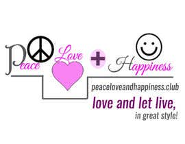 kvd05 tarafından Design a Logo for www.peaceloveandhappiness.club için no 18