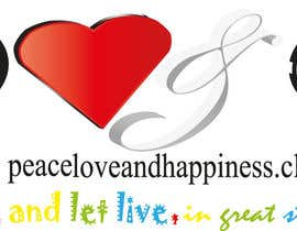 #9 for Design a Logo for www.peaceloveandhappiness.club by basmaseyam