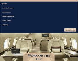 #19 for Design a Website Mockup for Private Jet company af BushaF
