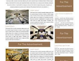 Nro 2 kilpailuun Design a Website Mockup for Private Jet company käyttäjältä ravinderss2014