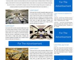 Nro 3 kilpailuun Design a Website Mockup for Private Jet company käyttäjältä ravinderss2014