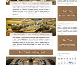 ravinderss2014 tarafından Design a Website Mockup for Private Jet company için no 25