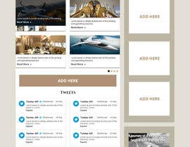Nro 6 kilpailuun Design a Website Mockup for Private Jet company käyttäjältä xsasdesign