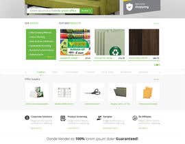 #21 untuk Design a Website Mockup for TheGreenOffice.com oleh Pavithranmm