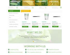 #28 untuk Design a Website Mockup for TheGreenOffice.com oleh AustralDesign