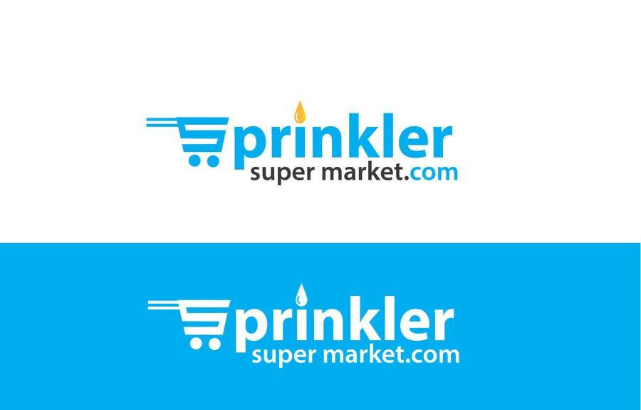 Konkurrenceindlæg #                                        52                                      for                                         Design a Logo for SprinklerSupermarket.com