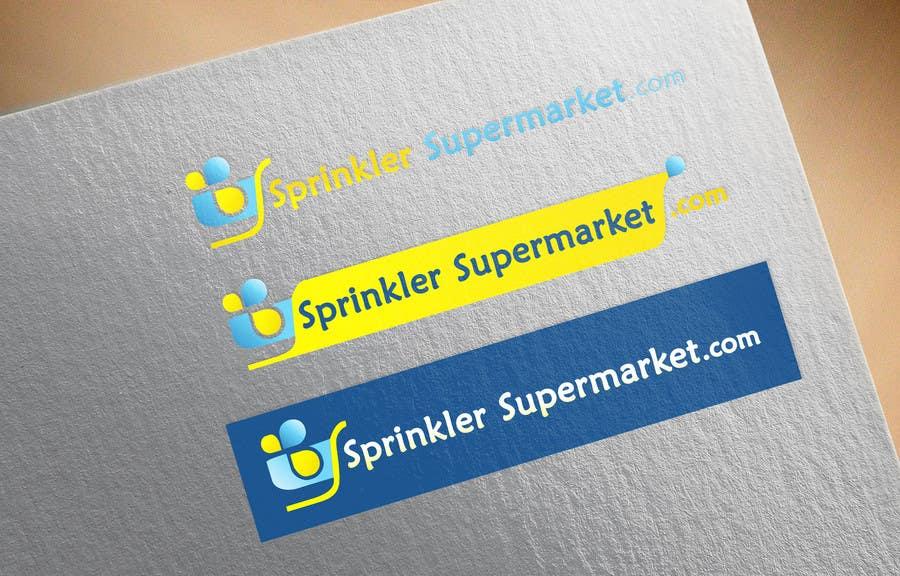 Proposition n°                                        14                                      du concours                                         Design a Logo for SprinklerSupermarket.com