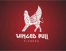 #25 for Winged Bull Fitness Logo by rasithagamage